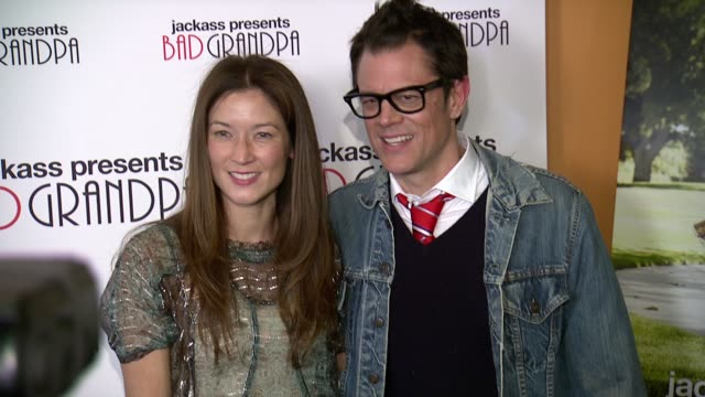 Johnny Knoxville and Naomi Nelson at Jackass Presents Bad Grandpa New York Special Screening at Sunshine Landmark New York NY on 10/21/13 in New York...