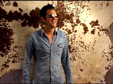 johnny knoxville at the 2004 toronto international film festival 'a dirty shame' portraits at intercontinental in toronto ontario on september 13 2004 - festival internazionale del cinema di toronto video stock e b–roll