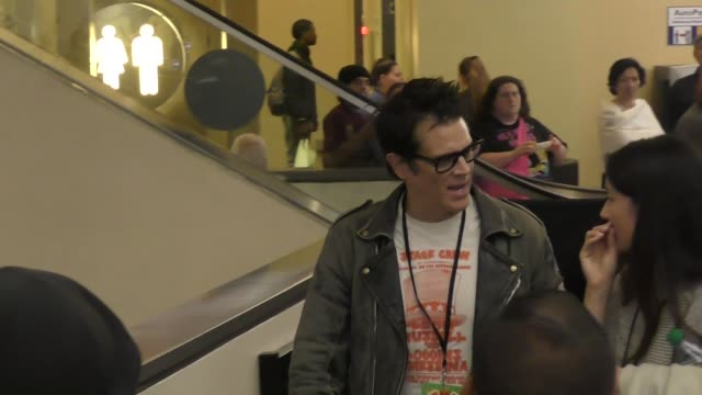 Johnny Knoxville leaves Solo A Star Wars Story premiere at Dolby Theatre in Hollywood in Celebrity Sightings in Los Angeles