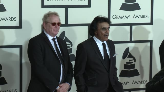 Johnny Mathis at The 57th Annual Grammy Awards Red Carpet at Staples Center on February 08 2015 in Los Angeles California