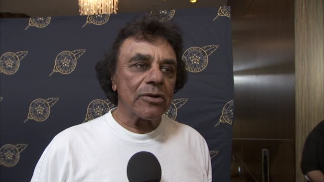 INTERVIEW Johnny Mathis at The Beverly Hilton Hotel on February 26 2016 in Beverly Hills California