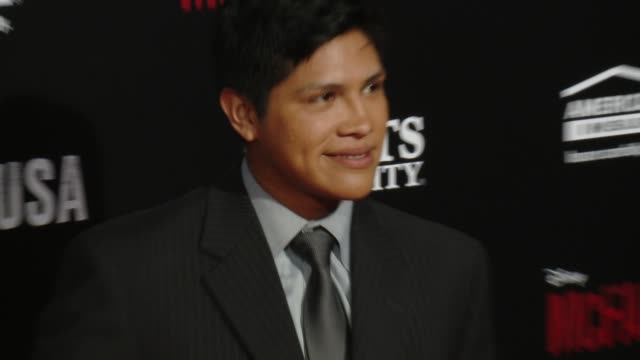 "johnny ortiz at the ""mcfarland, usa"" los angeles premiere at the el capitan theatre on february 09, 2015 in hollywood, california. - el capitan theatre stock videos & royalty-free footage"