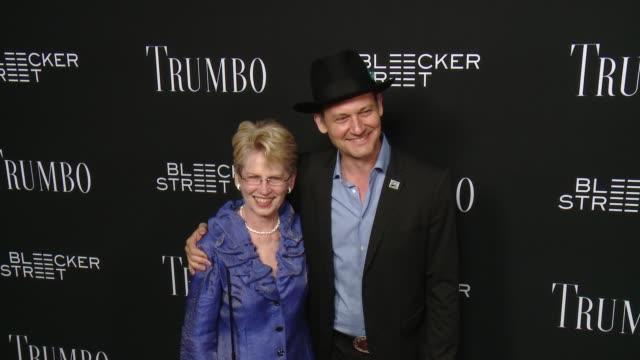 johnny sneed at the trumbo los angeles premiere at the academy of motion picture arts and sciences on october 27 2015 in beverly hills california - academy of motion picture arts and sciences stock-videos und b-roll-filmmaterial