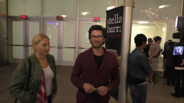 INTERVIEW Johnny Whitworth on Jared Fogle's prison attack as he leaves ArcLight Cinemas in Hollywood at Celebrity Sightings in Los Angeles on March...