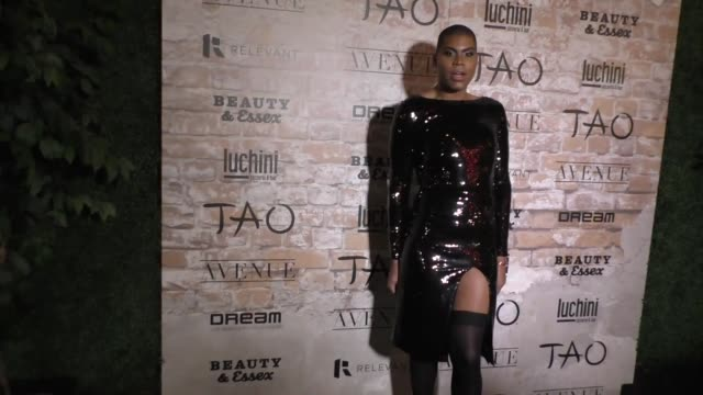 EJ Johnson at the TAO Beauty And Essex Avenue And Luchini LA Grand Opening on March 16 2017 in Los Angeles California