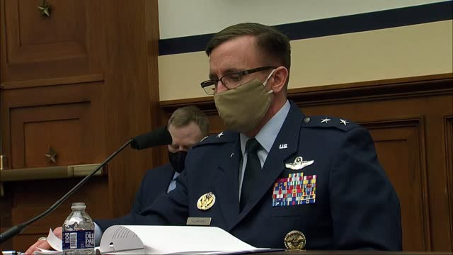 joint chiefs of staff operations vice director jeff taliaferro tells the house armed services committee at hearing on evolving military mission with... - missions of california film title stock videos & royalty-free footage