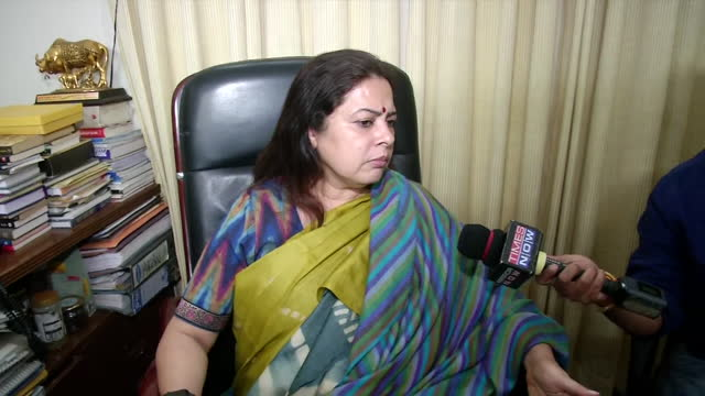"""joint committee of parliament for data protection head meenakshi lekhi's byte related to the twitter case. she said, """"this is just one aspect. there... - byte stock videos & royalty-free footage"""