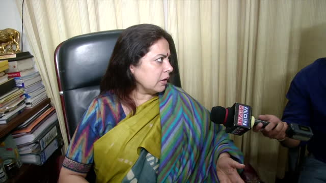 """joint parliamentary panel for data protection head meenakshi lekhi's byte on the action taken by the panel against twitter. she said, """"we asked them... - byte stock videos & royalty-free footage"""
