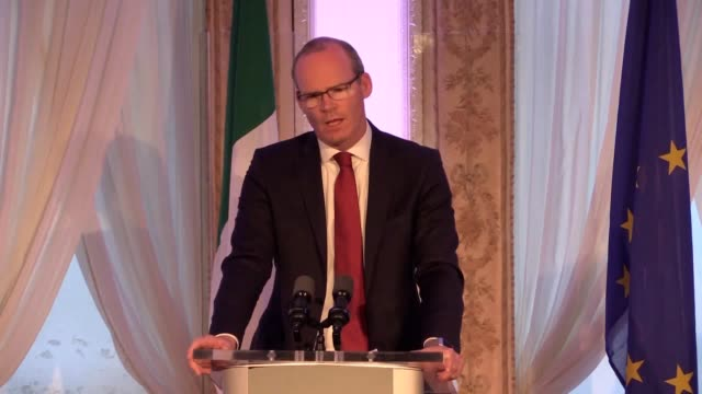 Joint press conference between the Tanaiste and Minister for Foreign Affairs and Trade Simon Coveney and French Minister for Europe and Foreign...