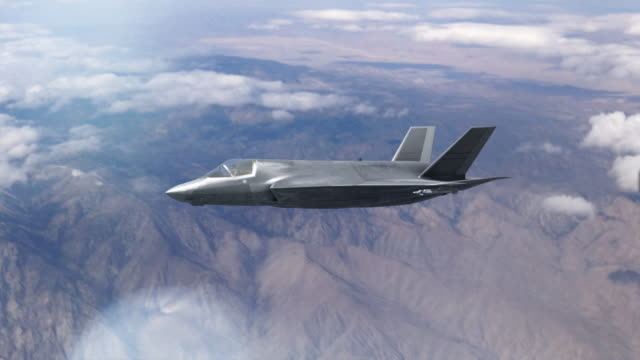 f-35 joint strike fighter, firing missile. - fighter stock videos and b-roll footage