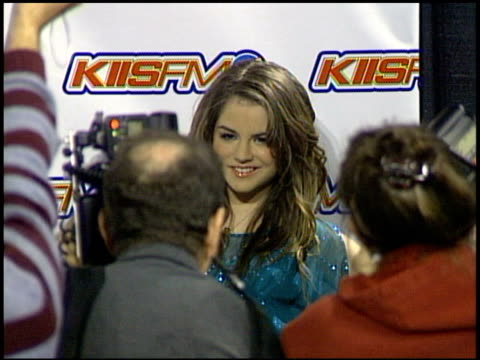 JoJo at the KIIS FM Jingle Ball Concert 2004 at the Pond of Aneheim in Aneheim California on December 4 2004