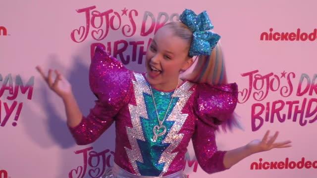 jojo siwa celebrates her sweet 16 birthday on april 09, 2019 in hollywood, california. - joey graceffa stock videos & royalty-free footage