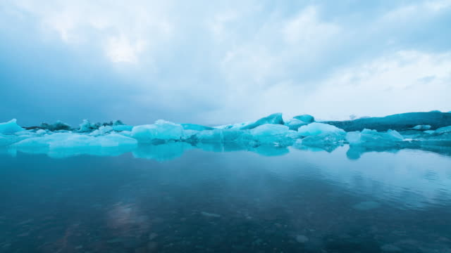 jokulsarlon glacier lagoon in iceland. - iceland stock videos & royalty-free footage