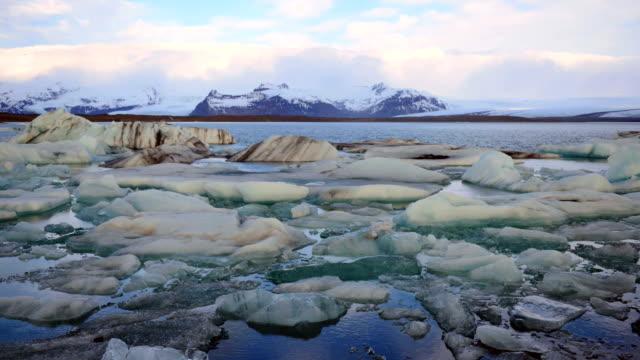 Jokulsarlon Ice Lagoon Timelapse, South Iceland, Europe