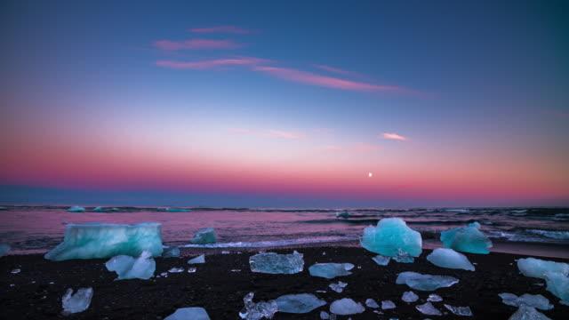 Jökulsárlón Lagune in Island - 4K Natur/Tierwelt/Wetter