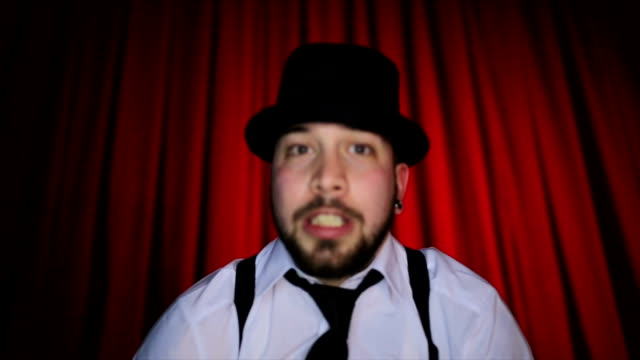 jolly acting performance - comedian stock videos & royalty-free footage