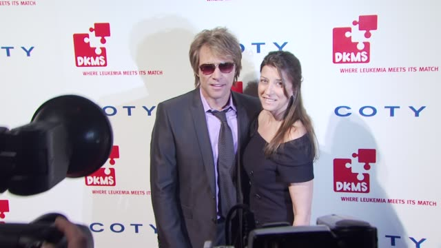 Jon Bon Jovi and Dorothea Bon Jovi at the DKMS' 4th Annual Gala Linked Against Leukemia Arrivals at New York NY