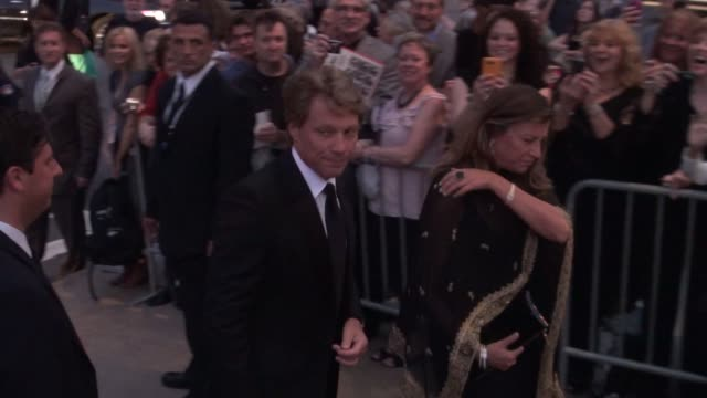 Jon Bon Jovi and wife Dorotheaat the 2011 New York City Ballet Fall Gala 9/22/11
