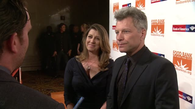 Jon Bon Jovi at Food Bank For New York City Can Do Awards Dinner Gala at Cipriani Wall Street on April 21 2015 in New York City