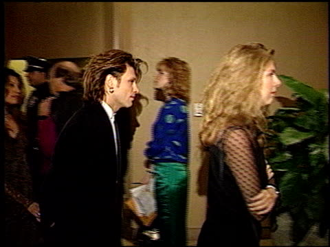 Jon Bon Jovi at the 1993 Golden Globe Awards at the Beverly Hilton in Beverly Hills California on January 23 1993