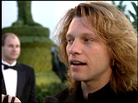 Jon Bon Jovi at the 1995 Academy Awards Morton Party at Morton's in West Hollywood California on March 27 1995