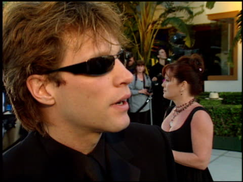 Jon Bon Jovi at the 1998 Academy Awards Vanity Fair Party at Morton's in West Hollywood California on March 23 1998