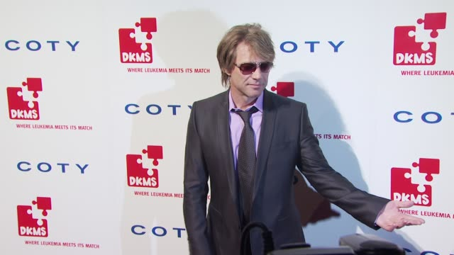 Jon Bon Jovi at the DKMS' 4th Annual Gala Linked Against Leukemia Arrivals at New York NY