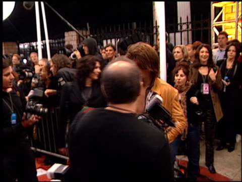 jon bon jovi at the my vh1 music awards at the shrine auditorium in los angeles, california on december 2, 2001. - shrine auditorium stock videos & royalty-free footage