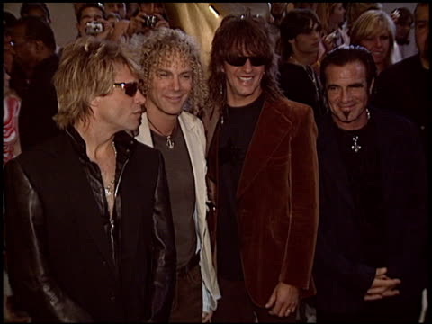 Jon Bon Jovi at the World Music Awards 2005 at the Kodak Theatre in Hollywood California on August 31 2005