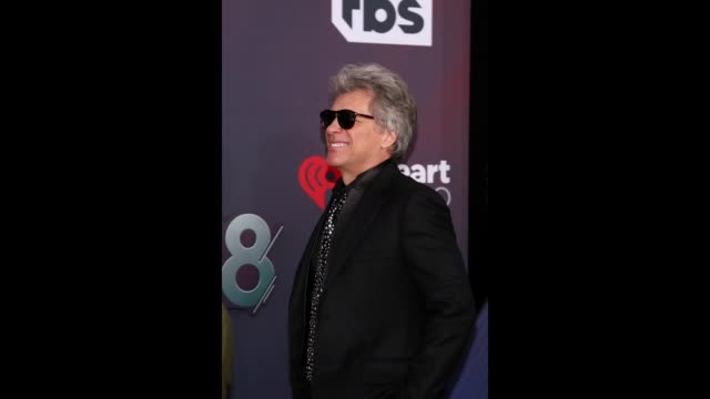Jon Bon Jovi attends the 2018 iHeartRadio Music Awards which broadcasted live on TBS TNT and truTV at The Forum on March 11 2018 in Inglewood...