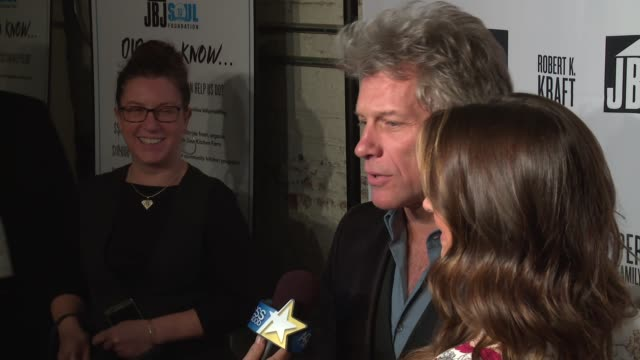 Jon Bon Jovi Dorothea Hurley at Jon Bon Jovi Soul Foundation 10 Year Anniversary at the Garage on October 6 2016 in New York City