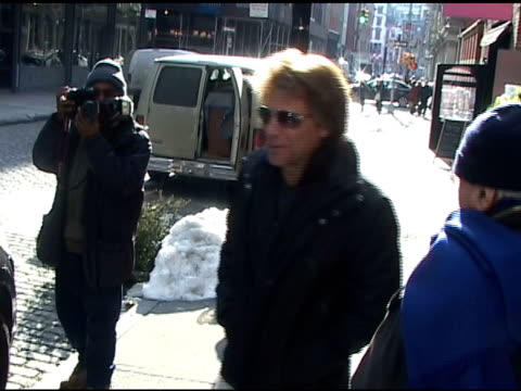 Jon Bon Jovi in Soho 01/06/11 at the Celebrity Sightings in New York at New York NY