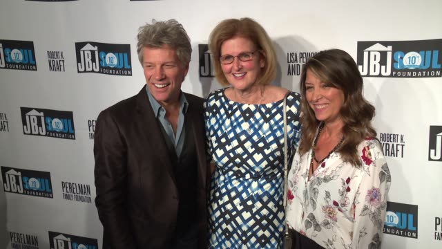 Jon Bon Jovi Mimi Box Dorothea Hurley at Jon Bon Jovi Soul Foundation 10 Year Anniversary at the Garage on October 6 2016 in New York City