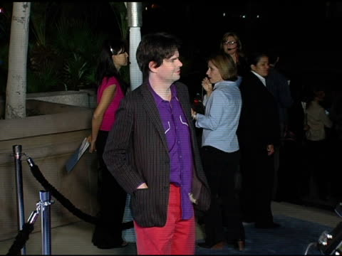 jon brion at the 'eternal sunshine of the spotless mind' dvd launch party at the los angeles county museum of art in los angeles, california on... - ロサンゼルスカウンティ美術館点の映像素材/bロール