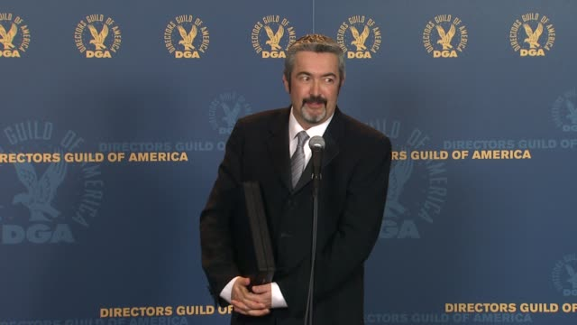 Jon Cassar on the event at 64th Annual DGA Awards Press Room on 1/28/12 in Los Angeles CA