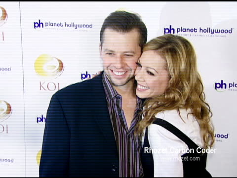 jon cryer and lisa joyner at the koi las vegas grand opening at planet hollywood in las vegas nevada on november 9 2007 - lisa joyner stock videos and b-roll footage