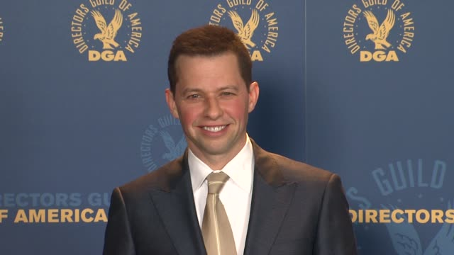 jon cryer at 64th annual dga awards press room on 1/28/12 in los angeles ca - jon cryer stock videos and b-roll footage