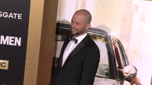 jon cryer at amc celebrates the final season of mad men with black red ball at dorothy chandler pavilion on march 25 2015 in los angeles california - jon cryer stock videos and b-roll footage