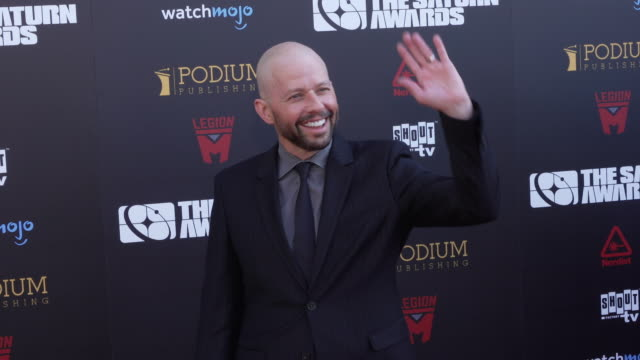 jon cryer at the 45th annual saturn awards on september 13 2019 in hollywood california - jon cryer stock videos and b-roll footage