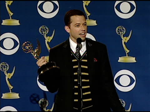 jon cryer at the 61st annual primetime emmy awards - press room at los angeles ca. - annual primetime emmy awards stock-videos und b-roll-filmmaterial