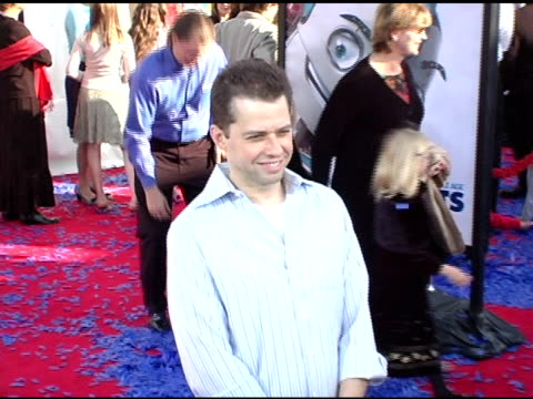jon cryer at the 'robots' world premiere at the mann village theatre in westwood california on march 6 2005 - jon cryer stock videos and b-roll footage