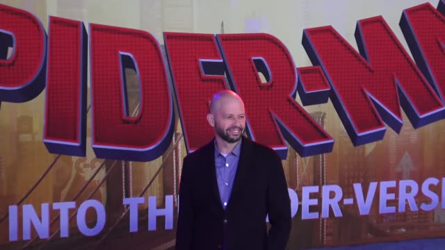 jon cryer at the 'spiderman into the spiderverse' premiere at the regency village theatre in los angeles - jon cryer video video stock e b–roll