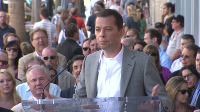 jon cryer on his career at the jon cryer honored with star on the hollywood walk of fame at hollywood ca - jon cryer video video stock e b–roll