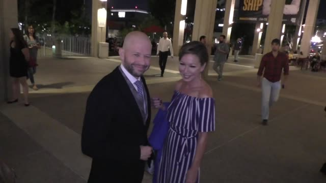 inteview jon cryer on playing the role of lex luthor outside the opening night of the new one at the ahmanson theatre in los angeles at celebrity... - jon cryer video video stock e b–roll