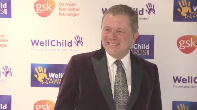 jon culshaw at wellchild awards at royal lancaster hotel on october 16 2017 in london england - jon culshaw stock videos & royalty-free footage