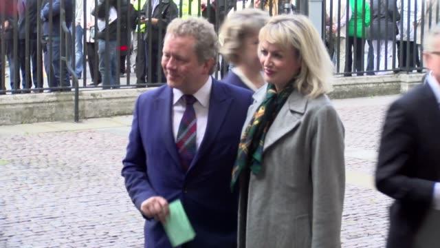 jon culshaw at westminster abbey on june 07 2017 in london england - jon culshaw stock videos & royalty-free footage