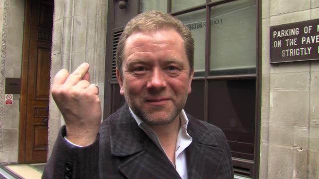 jon culshaw leaves after appearing as a guest jon culshaw at bbc radio one studios on march 17, 2011 in london, england - bbc radio stock videos & royalty-free footage