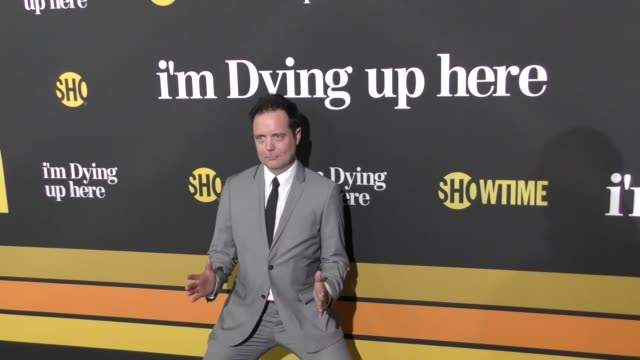 jon daly at the premiere of showtime's 'i'm dying up here' - arrivals on may 31, 2017 in los angeles, california. - showtime video stock e b–roll