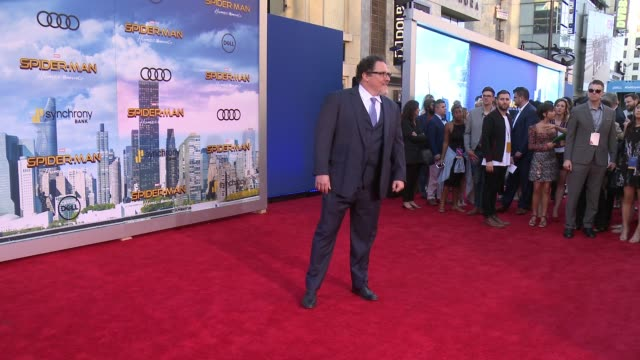 "Jon Favreau at Audi Arrivals at The World Premiere of ""SpiderMan Homecoming"" in Los Angeles CA"