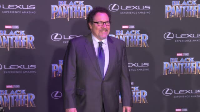 Jon Favreau at the Marvel Studios' 'Black Panther' World Premiere at Dolby Theatre on January 29 2018 in Hollywood California